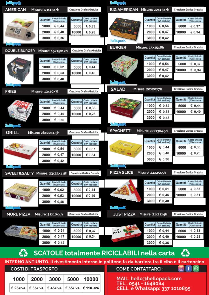 hellopack scatole da asporto listino 2022